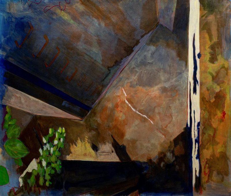Aude MOUILLOT - Painting - « Étang 7 »