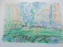 Madeleine LEON - Drawing-Watercolor - Lot de 6 aquarelles détaillées plus bas.