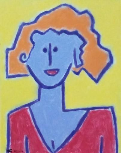 Harry BARTLETT FENNEY - Peinture - orange hair