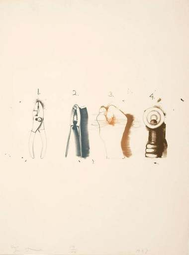 Jim DINE - Print-Multiple - Nutcracker