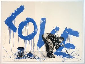 MR BRAINWASH - Print-Multiple - All you need is love