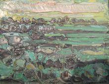 André COTTAVOZ - Painting - Paysage