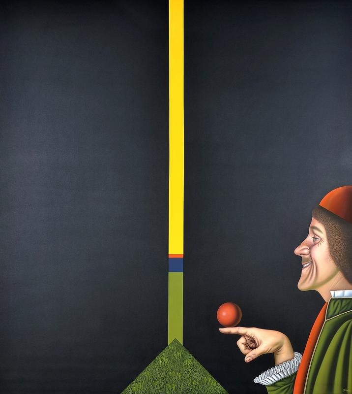 Josef BRAMER - Painting - Balance II