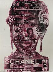 BAST - Estampe-Multiple - Chanel Girl