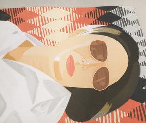 Alex KATZ - Stampa-Multiplo - Reclining Figure / Indian Blanket