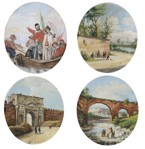 Giovanni BIASIN - Peinture - scene risorgimentali
