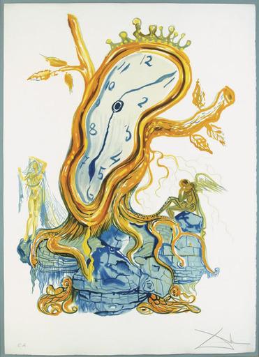 Salvador DALI - Stampa Multiplo - Stillness of Time