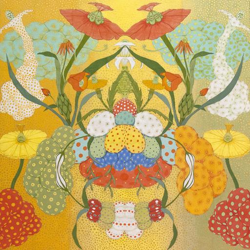 Mari ITO - Painting - Origen del deseo - Arcoiris amarillo