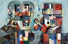 Ibrahim KODRA - Pintura - Concerto folk