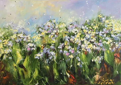 Diana MALIVANI - Painting - Scent of Spring