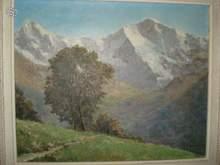 Clément CASTELLI (1870-1959) - Les Alpes