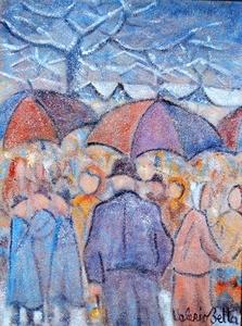 Valerio BETTA - Peinture - Mercato di gennaio