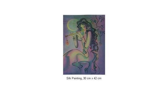Mai LONG - Painting - Bamboo Flute, Long 06