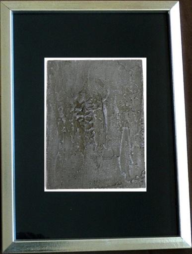 Salvador SORIA - Pintura - Abstraction grise