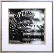 海因茨·马克 - 版画 - Rotor black-silver