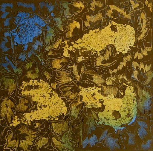 Theodora BERNARDINI - Peinture - Divin Opium