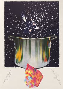 James ROSENQUIST - Print-Multiple - Caught one lost one for the fast student or star catcher