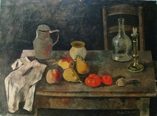 Roland OUDOT - Peinture - Natura morta