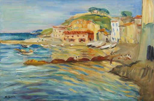 Charles CAMOIN - Painting - Vue de Saint-Tropez