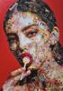 VIRUT P. - Gemälde - Lollipop gal in red