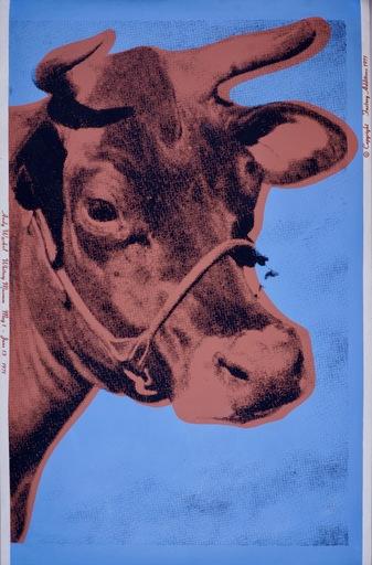 Andy WARHOL - Estampe-Multiple - Cow
