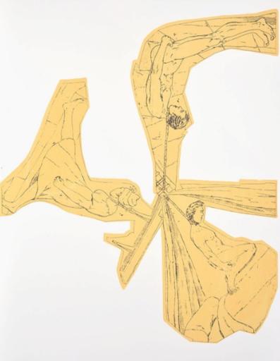 Daniel RICHTER - Estampe-Multiple - Untitled B