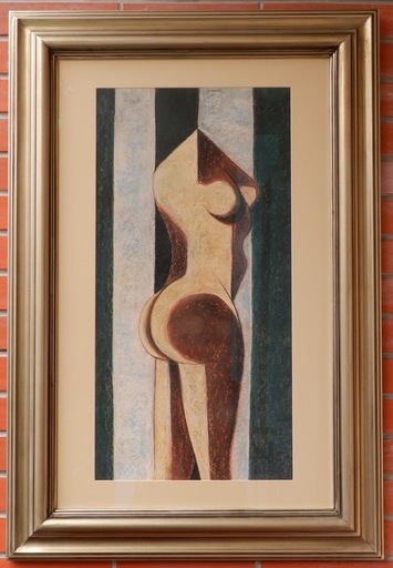 Ladislav GUDERNA - Drawing-Watercolor - Nude Women