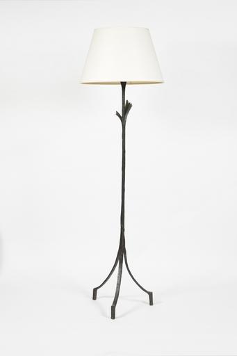 Alberto GIACOMETTI - Sculpture-Volume - Lampadaire de parquet modèle Feuille
