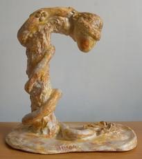 ATCHAMA - Sculpture-Volume - la femme serpent