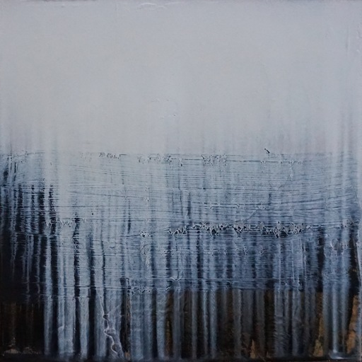Paul LORENZ - 绘画 - Absence with Black and Horizon