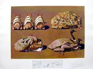 萨尔瓦多·达利 - 版画 - PRINCELY PLIER CAPRICES