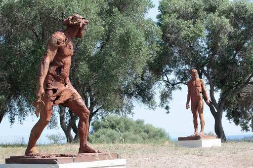 Christophe CHARBONNEL - Sculpture-Volume - David et Goliath