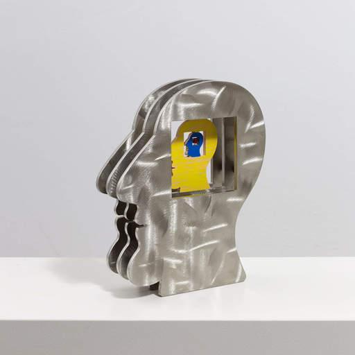 David GERSTEIN - Escultura - Head within a head within a head