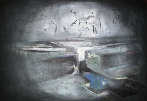 Juan FERNANDEZ LACOMBA - Pintura - Cantera negra