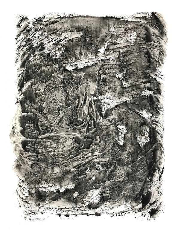 Bernard BEZZINA - Painting - Empreinte