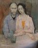 Jean JANSEM - Peinture - Couple attablé