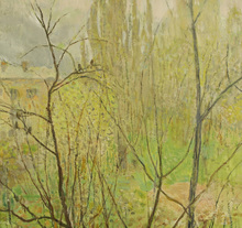 Elena Nilovna YABLONSKAYA - Painting - Kiev