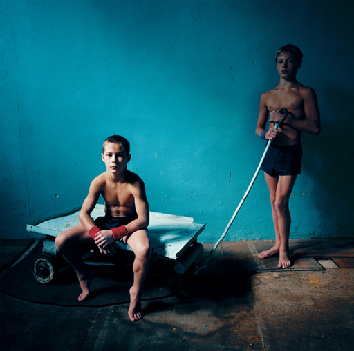 Michal CHELBIN - Fotografia - Two Athletes
