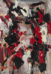 Jean-Paul RIOPELLE - Painting - Composition