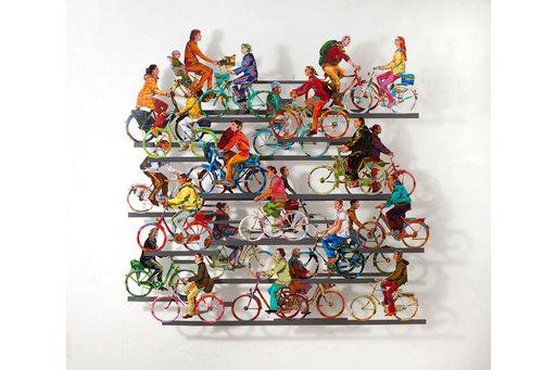 David GERSTEIN - Escultura - City On Wheels