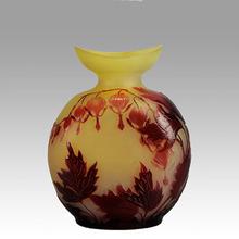 Émile GALLÉ - Hearts Cameo Vase