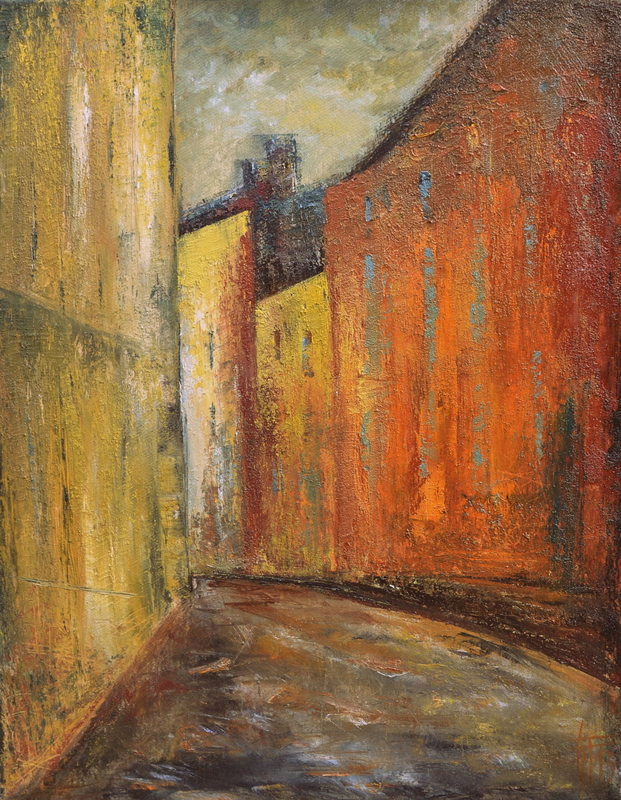 Géraldine THEUROT - Peinture - Stockholm II    (Cat N° 4931)
