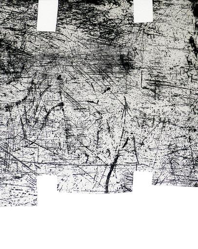 Eduardo CHILLIDA - Print-Multiple - Une helene de vent ou fumee I