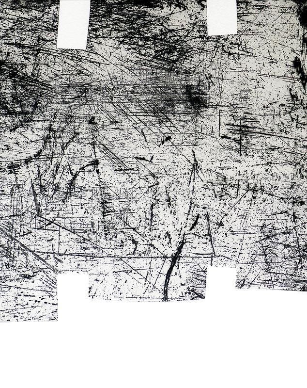 Eduardo CHILLIDA - Stampa-Multiplo - Une helene de vent ou fumee I