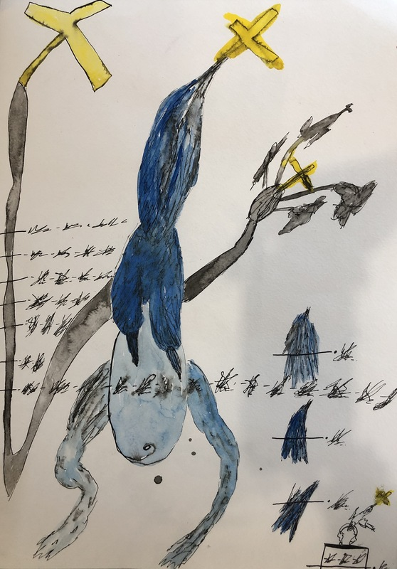 Zhenya MUZALEVSKY - 水彩作品 - Untitled I