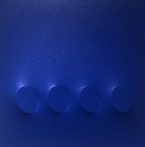 Turi SIMETI - Pintura - 4 ovali blu