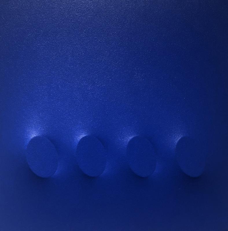 Turi SIMETI - Painting - 4 ovali blu