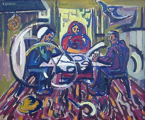 Tomás BARROS PARDO - Peinture - EN A LAREIRA