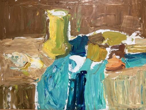 Albert DE DEKEN - Gemälde - La cruche jaune