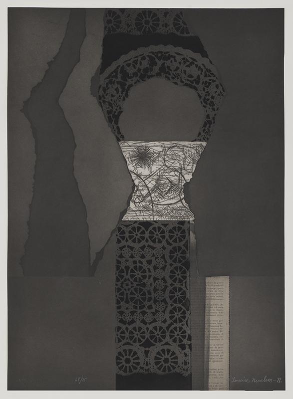 路易斯·内维尔森 - 版画